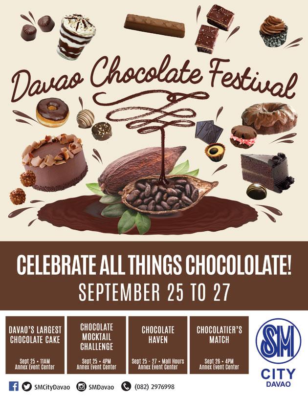 SM Davao Chocolate Festival 2015