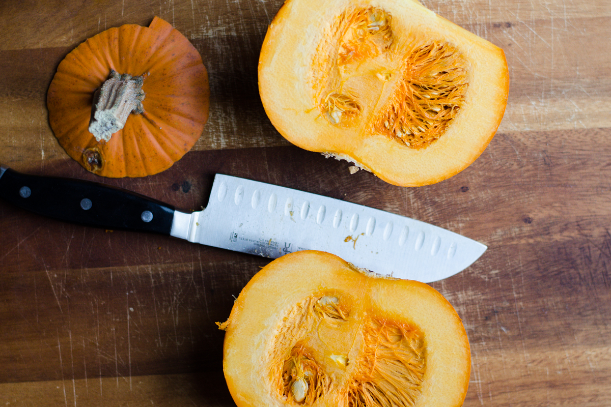 Homemade Roasted Pumpkin Puree