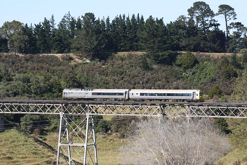 rm30 rmclass silverfern silverfernrailcar dmu viaduct railmotors matamuaviaduct matamua railwayviaduct railroad