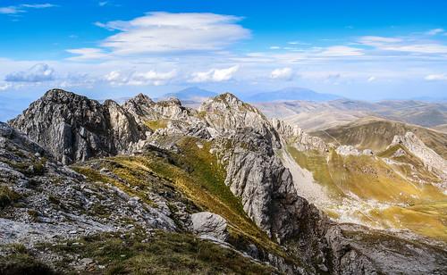 mountain clouds landscape shadows hiking bluesky shades macedonia mountaineering mountainside albania mountainscape mountainridge korab mountkorab