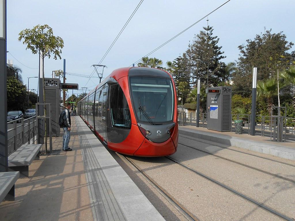 Morocco Casablanca Tramway