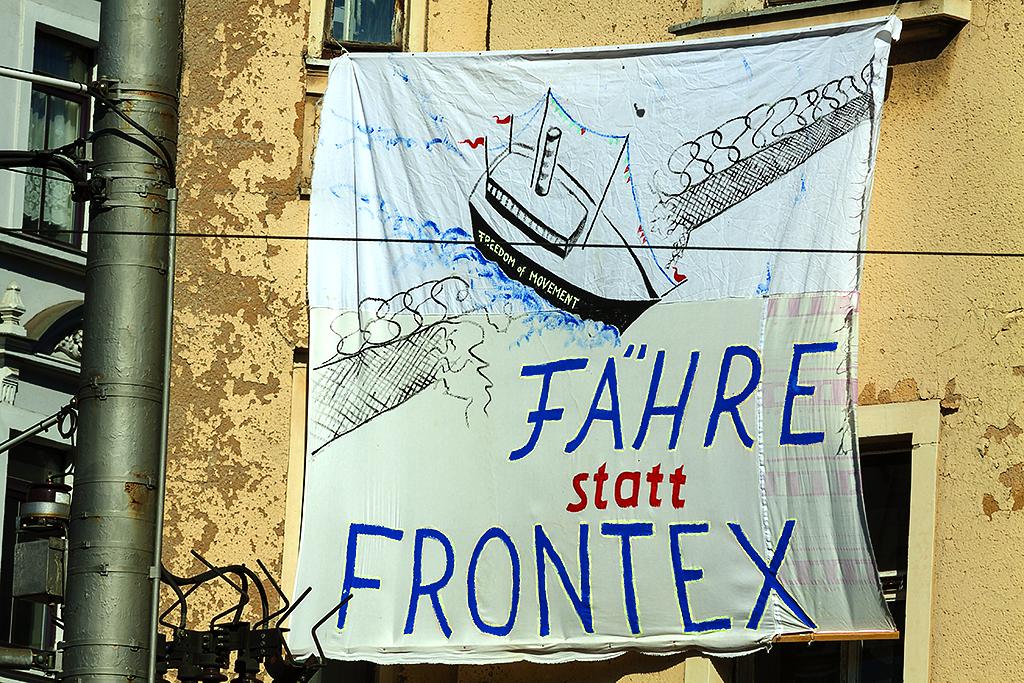 FAHRE statt FRONTEX--Leipzig