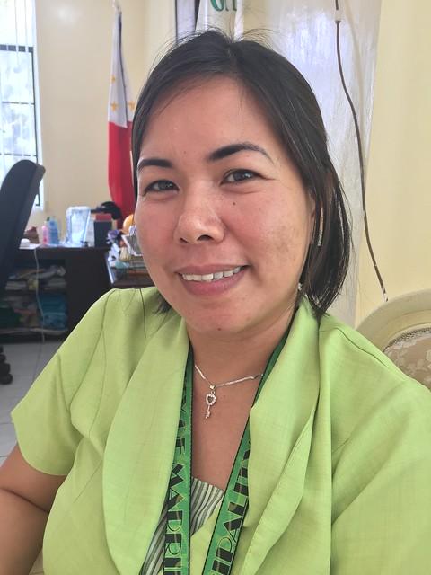 Municipal employee Jessyl S. Ortega