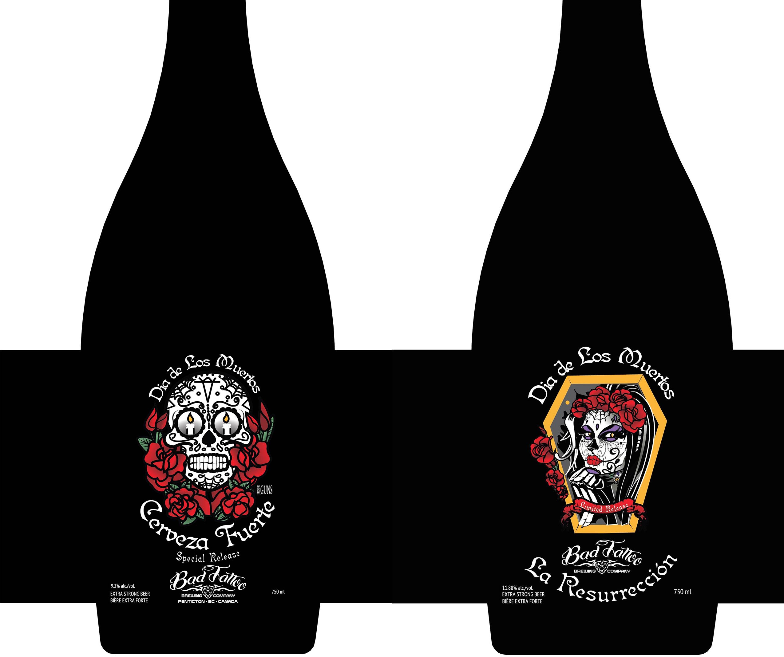 New Beers for release at Bad Tattoo on Nov 1, 2015