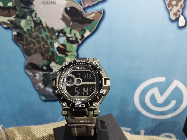 VELOCI WATCH CAMO COLLECTION