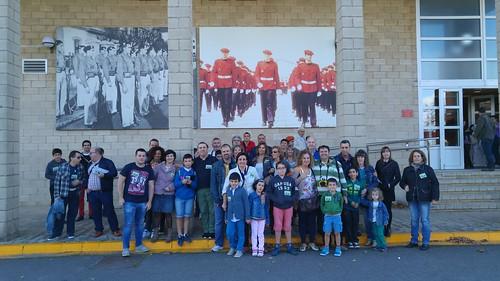 Museo #Arkaute en visita organizada por #BlogEUtrip para ver #ErtzaintzaMuseo