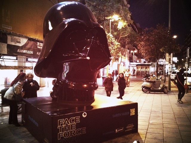 Darth Vader #FaceTheForce