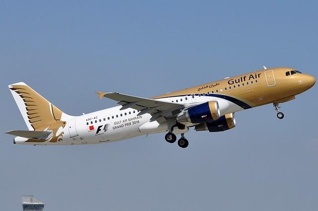 A.320-214 C.n 4059 'A9C-AC' Gulf Air