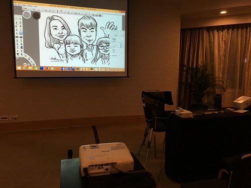 Digital gig for Mavis Tutorial Centre D&D 2015