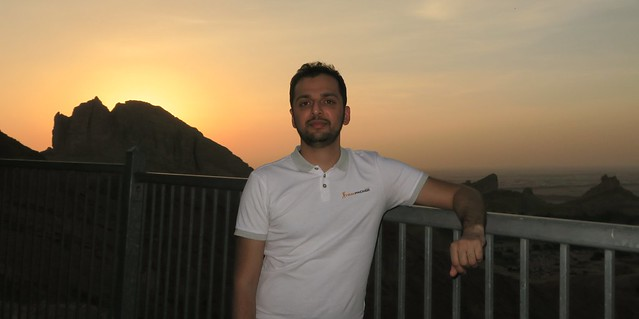 travpacker sunset jabal hafeet al ain uae