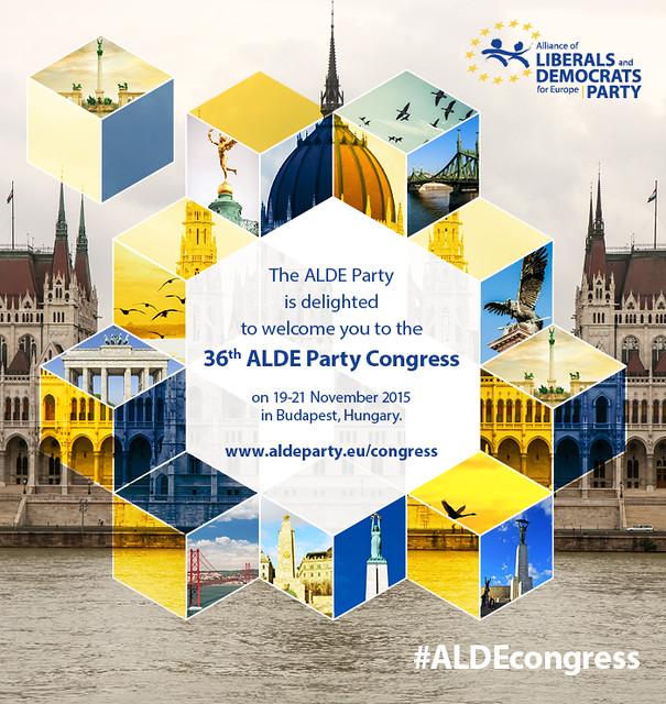 ALDE PARTY CONGRESS 2015