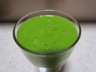 Spicy Tropical Green Smoothie