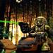 Kashyyyk Trooper on Speeder Bike by WesternOutlaw