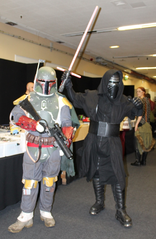 Brighton Comicon 2015 via lovebirdsvintage.co.uk