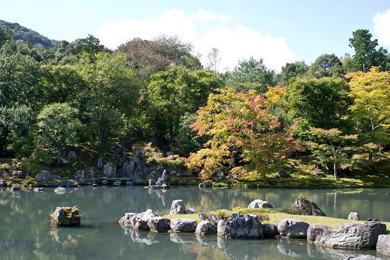 Gardens of Tenryu-ji Temple, Kyoto | packmeto.com