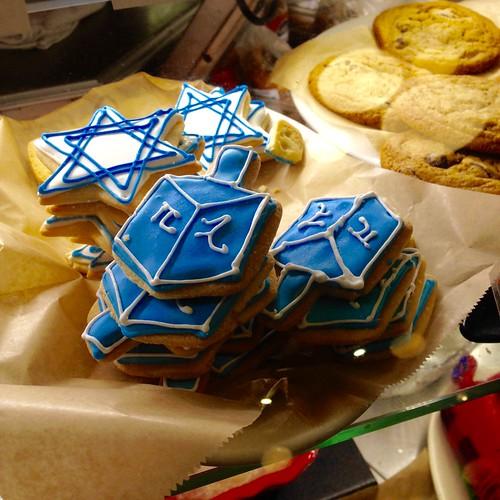Hanukkah Cookies at Saul's!