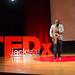 Ezra Brown speaking and performing at TEDxJXN 2015 by TEDxJackson