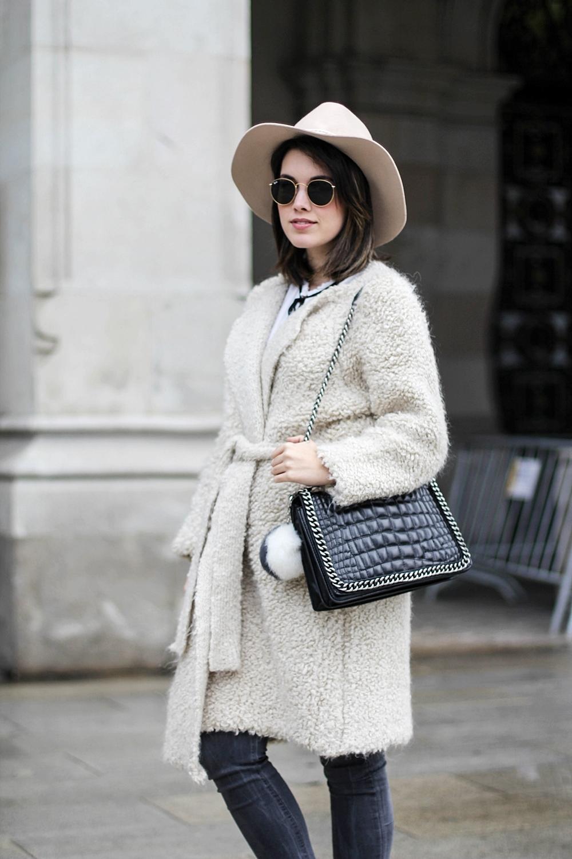 look con chaqueta de mohair uterque myblueberrynightsblog