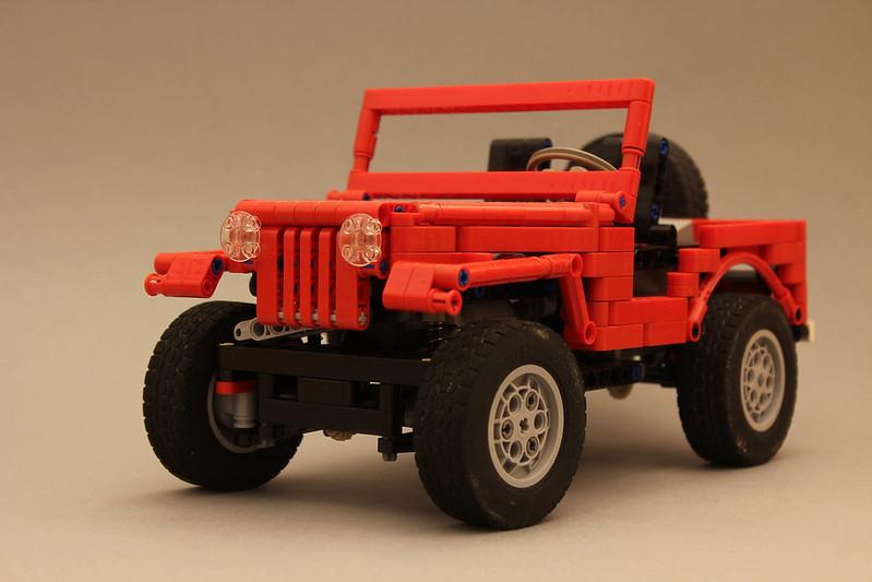 wip jeep cj5 lego technic mindstorms model team. Black Bedroom Furniture Sets. Home Design Ideas