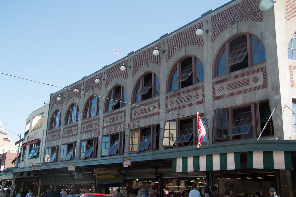 Buildings near Pike Place Market