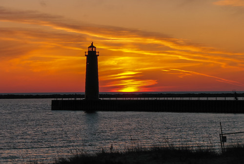 summer lighthouse lakemichigan travelformyjob travelling tourism colors clouds walking waterways outdoors