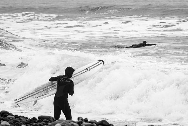 Winter Surfing - Lawrencetown Beach, Nova Scotia