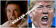 Donald tRump: America's shame