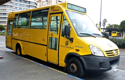 8277 GCF 'Guaguas Municipales' No. 617 Irisbus / UNVI on 'Dennis Basford's railsroadsrunways.blogspot.co.uk'