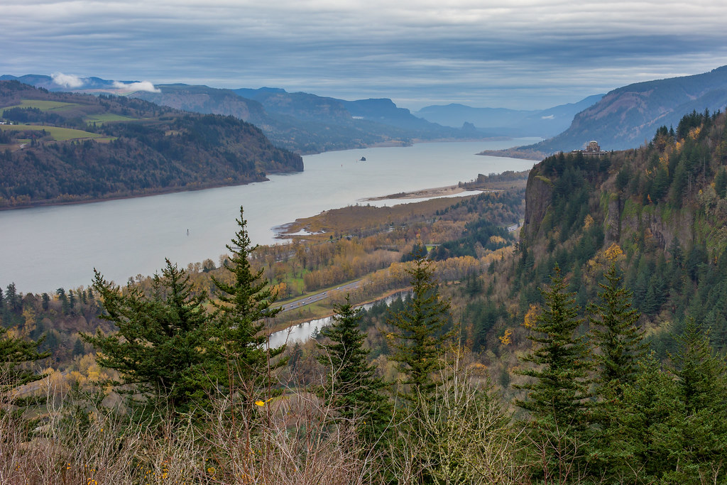Oregon. The Columbia River Gorge