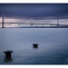 The Forth Bridge from Hawes Pier by NorthernXposure