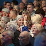 Audience enjoying Zoe Williams | Audience members enjoying Zoe Williams' event at the Edinburgh International Book Festival © Alan McCredie