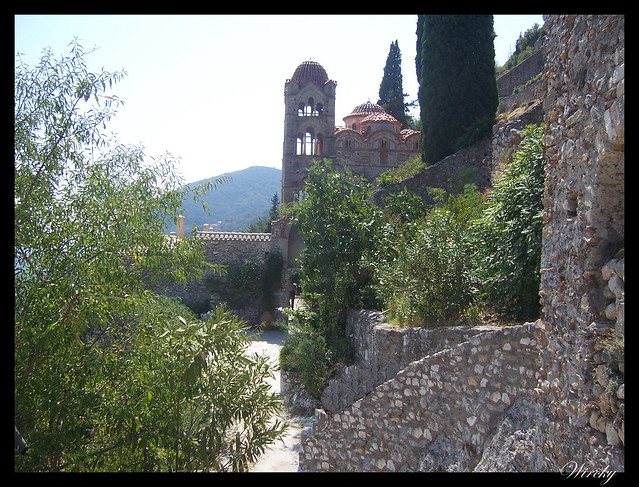 Grecia Nauplia Esparta Mistrás Olimpia - Monasterio Pantanassa