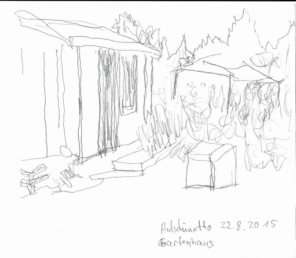 Gartenhaus mit Camera Obscura