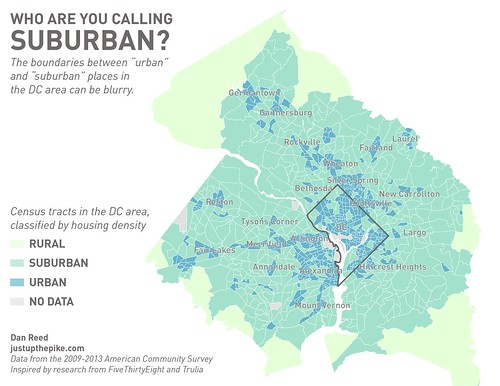 Who are you calling suburban? (Updated)