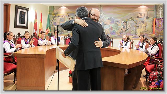Briviesca en Fiestas 2.015 Recepción en el Ayuntamiento y canto popular del Himno a Briviesca (5)