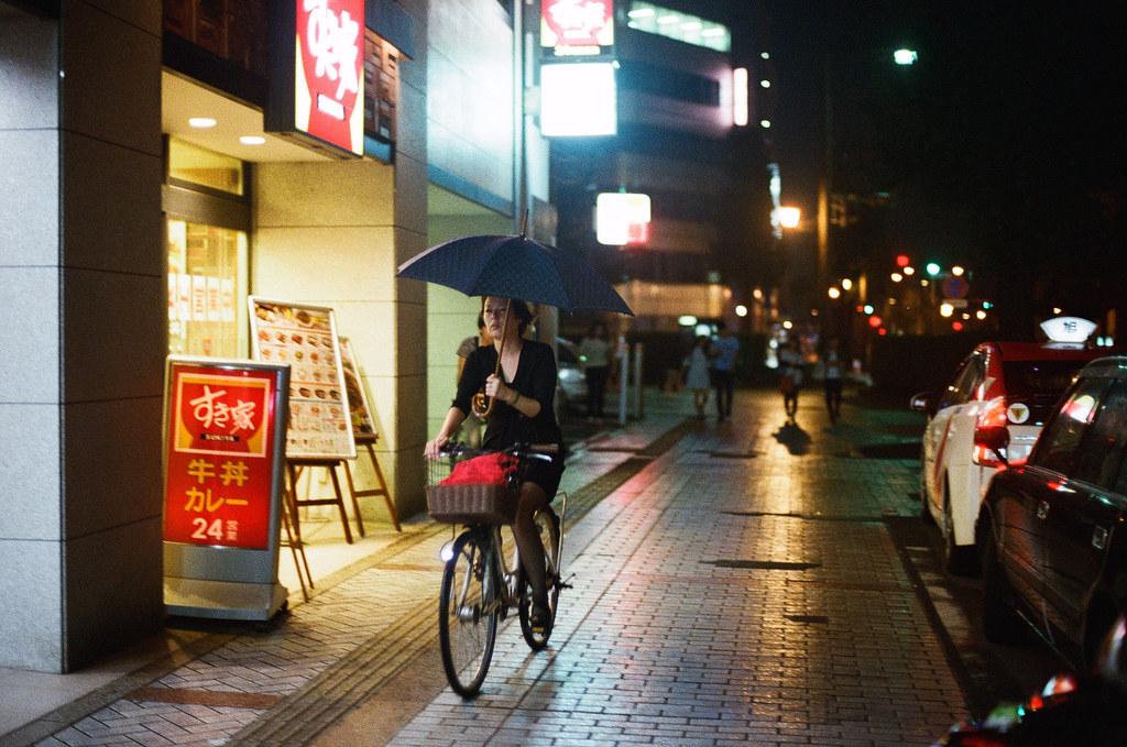 通町筋 熊本 Kumamoto 2015/09/05 每次我要準備回去的時候就會開始下雨。  Nikon FM2 / 50mm Kodak UltraMax ISO400 Photo by Toomore