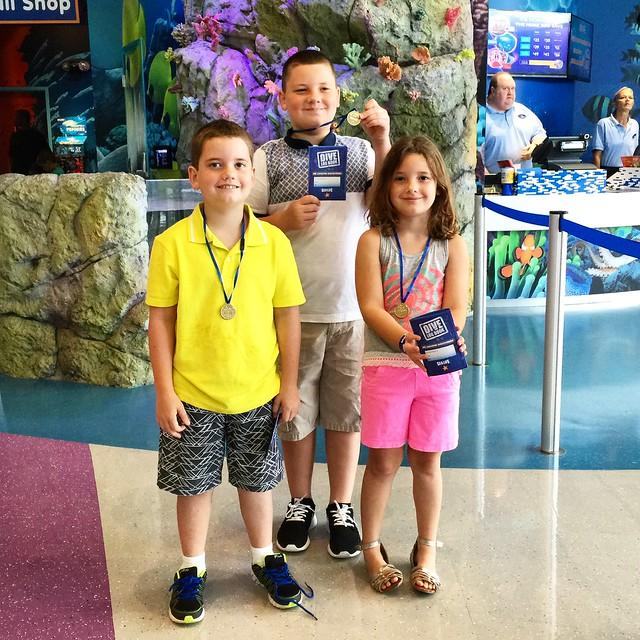 At Sealife Aquarium