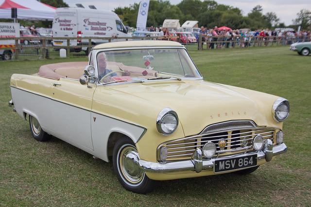 1960 Ford Zodiac Convertible