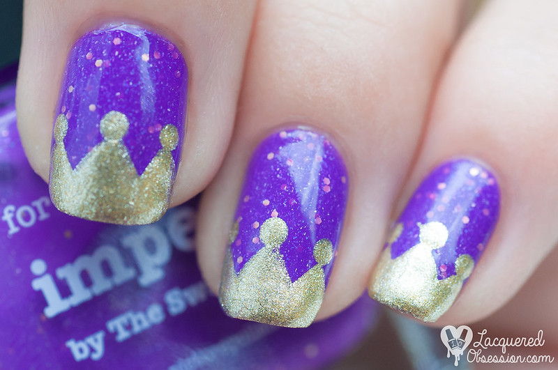 31DC2015 Day 06: Violet nails