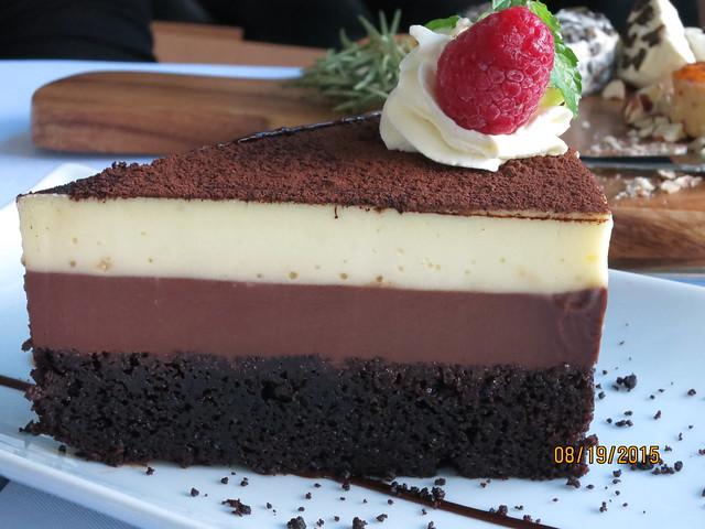 IMG_8605: Le Jardin Triple Chocolate Cake
