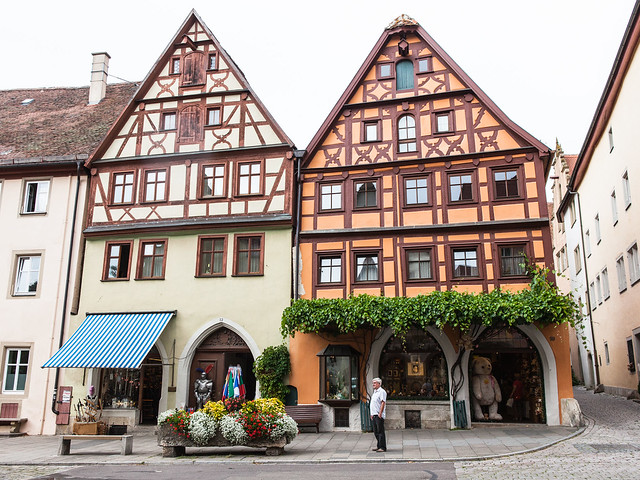 Rothenburg ob der Tauber. Middle Franconia. Bavaria. Germany