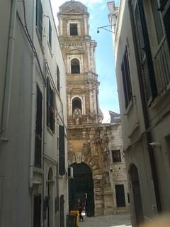 Conversano- affresco restaurato a San Benedetto