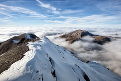 Schilthorn's Sea of Clouds