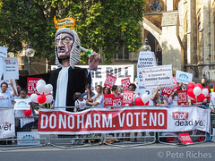 Dual Yes and No protest against Assisted Dying Bill - 16.01.2015 -9110032.jpg