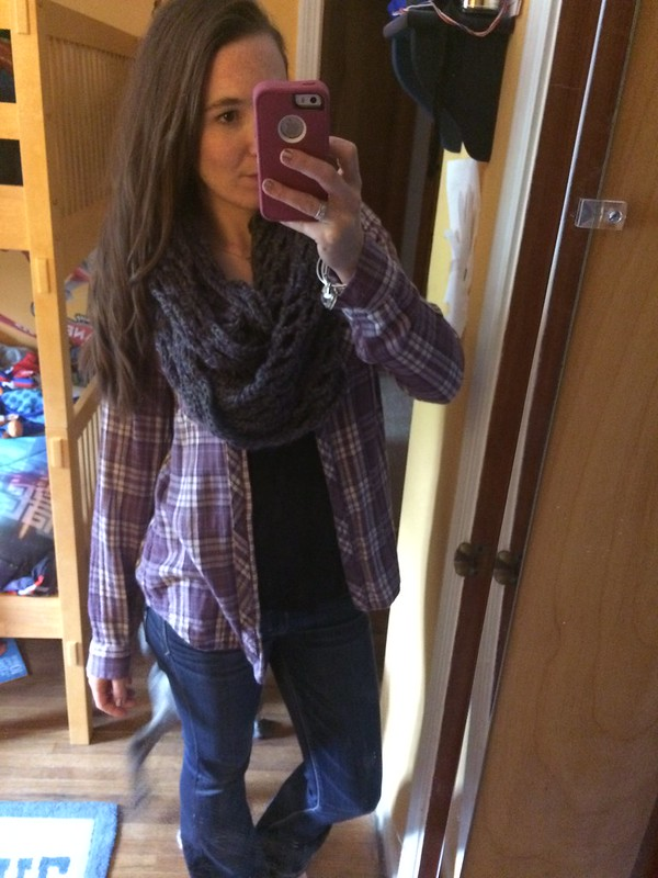Super casual plaid flannel