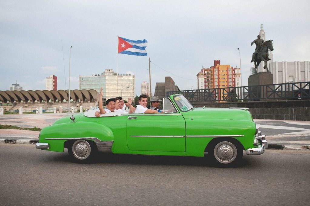 Young Men's Ensemble of the Los Angeles Children's Chorus 2015 Tour of Cuba