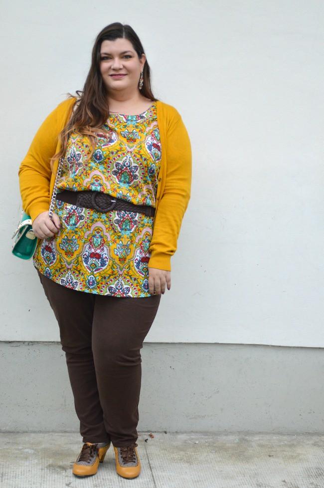 Outfit marrone e senape (2)