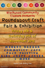 Roundabout Craft Fair & Exhibition 2015