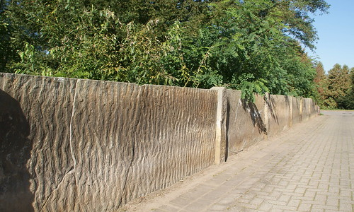 Dannefeld, Zaun vom Kirchhof
