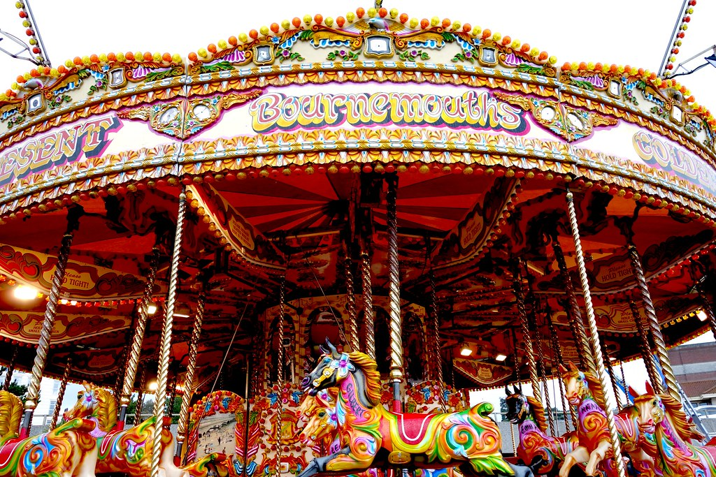 Carousel, #Bloggerlodge, Bournemouth